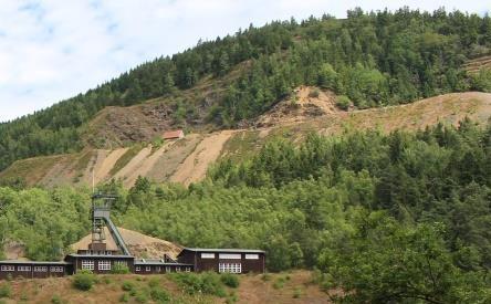 Spuren des Bergbaus am Rammelsberg